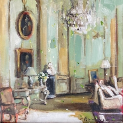 Hanna Ruminski - French Apartment in Pale Olive