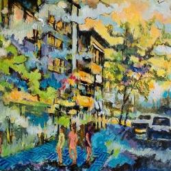 Masood Omer - Bloor St. Reflections