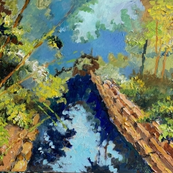 Masood Omer - Blue Waterway