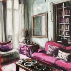 Hanna Ruminski - Parisian Apartment With Library