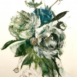 Madeleine Lamont - Teal Peony 2018- 3
