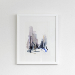 Joanna Gresik  - Hidden places (framed)