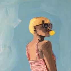 Frances  Hahn - Bubblegum Patricia
