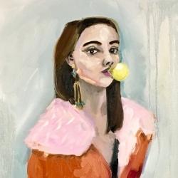 Frances  Hahn - Bubblegum Daryl