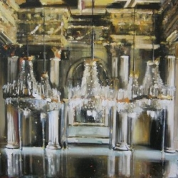 Hanna Ruminski - Ballroom in Royal Palace of Turin