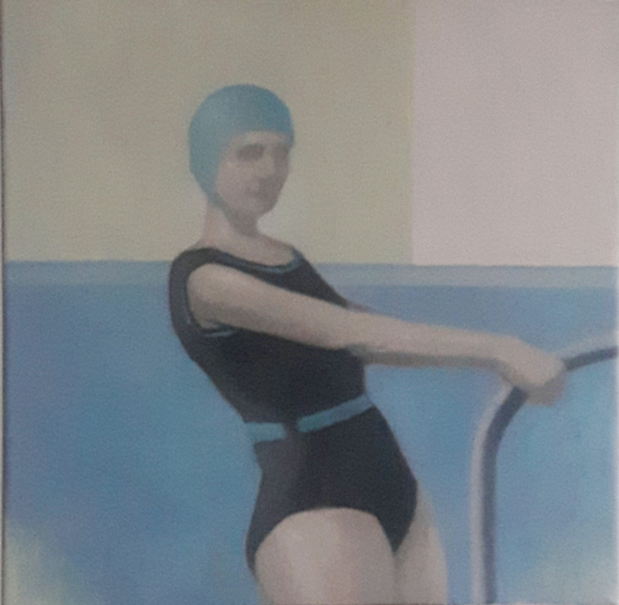 Blue Bathing Cap  by Greg Nordoff
