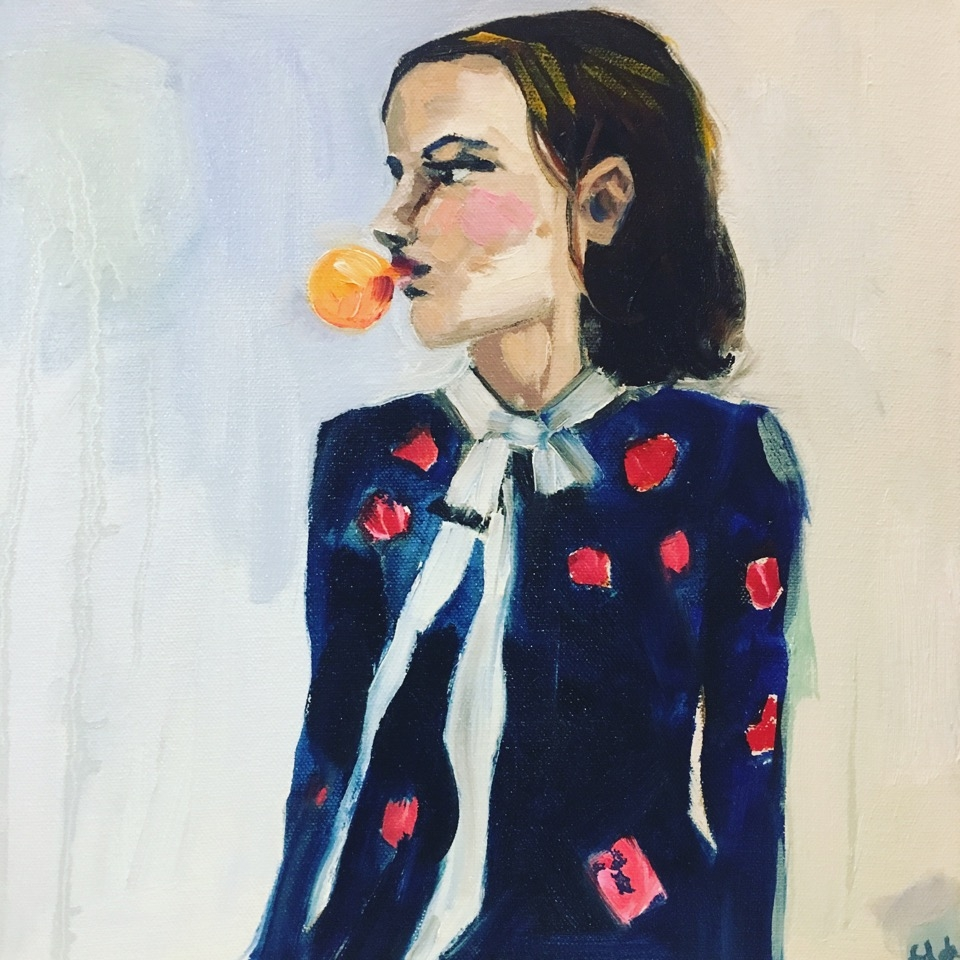 Bubblegum Rebecca  by Frances  Hahn