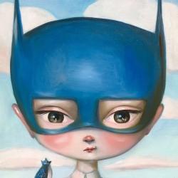 Kate Domina - Superhero and Sidekick