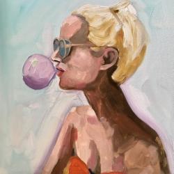 Frances  Hahn - Bubblegum Leslie
