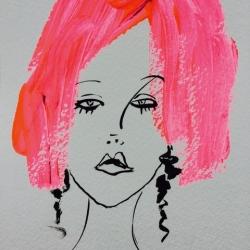 Diane Lingenfelter - Pink Petulant