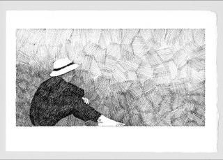 Ruminate- After Georges Seurat by J. Joel