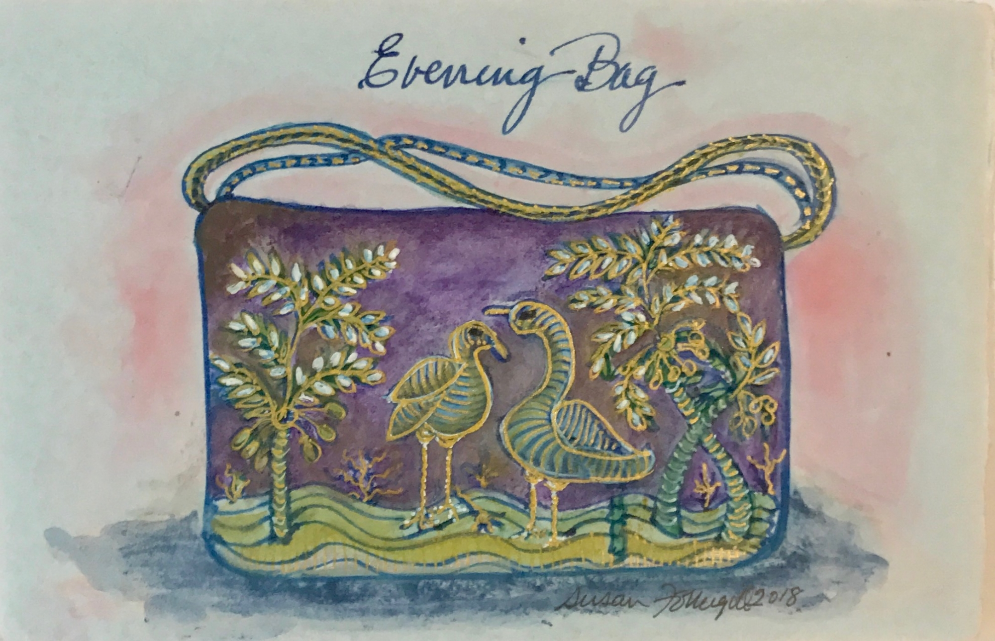 Evening Bag by Susan Fothergill