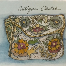 Susan Fothergill - Antique Clutch