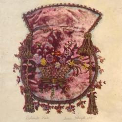 Susan Fothergill - Reticule- Pink