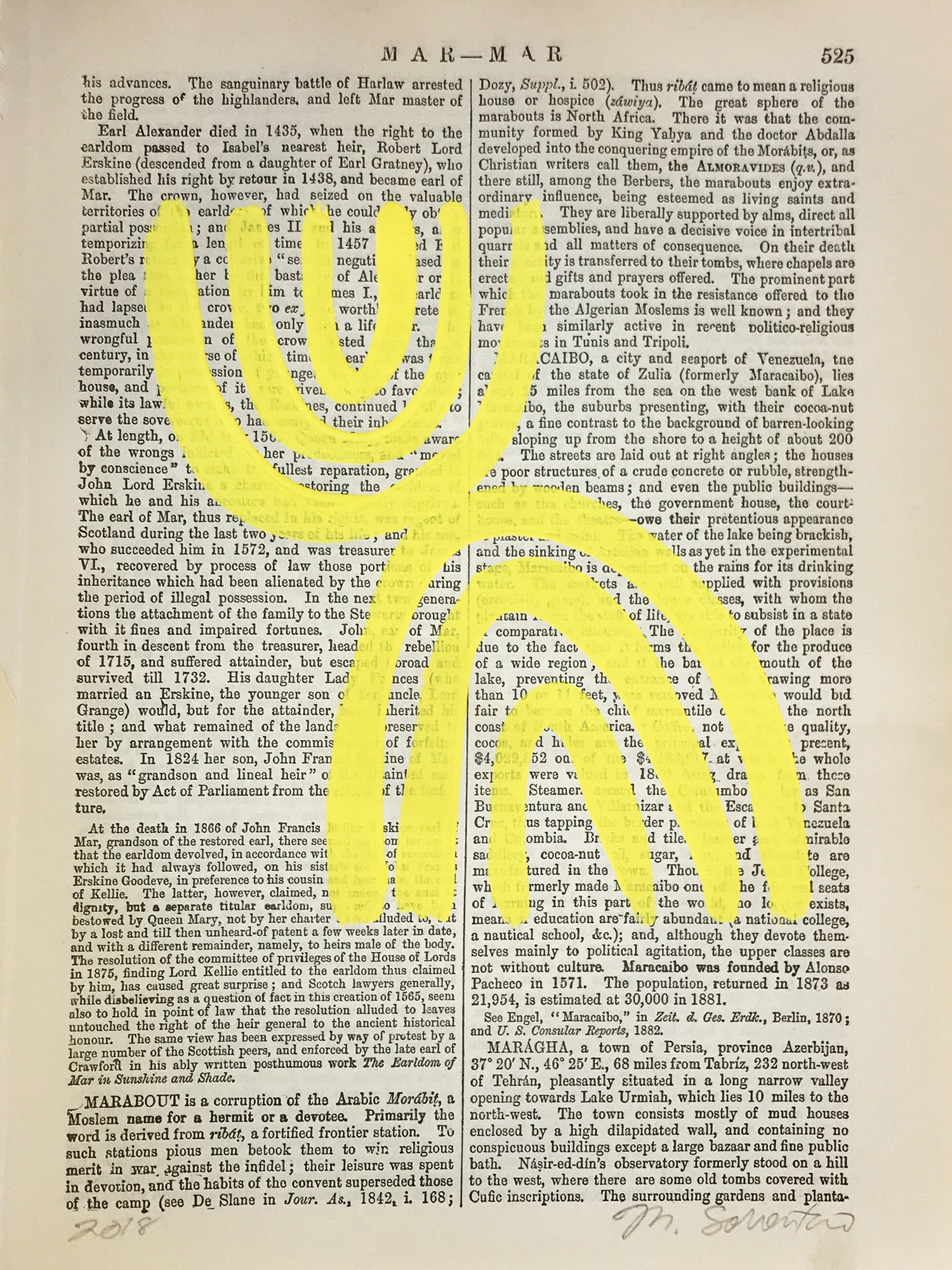 Mar-Mar Yellow 525  by Michela Sorrentino