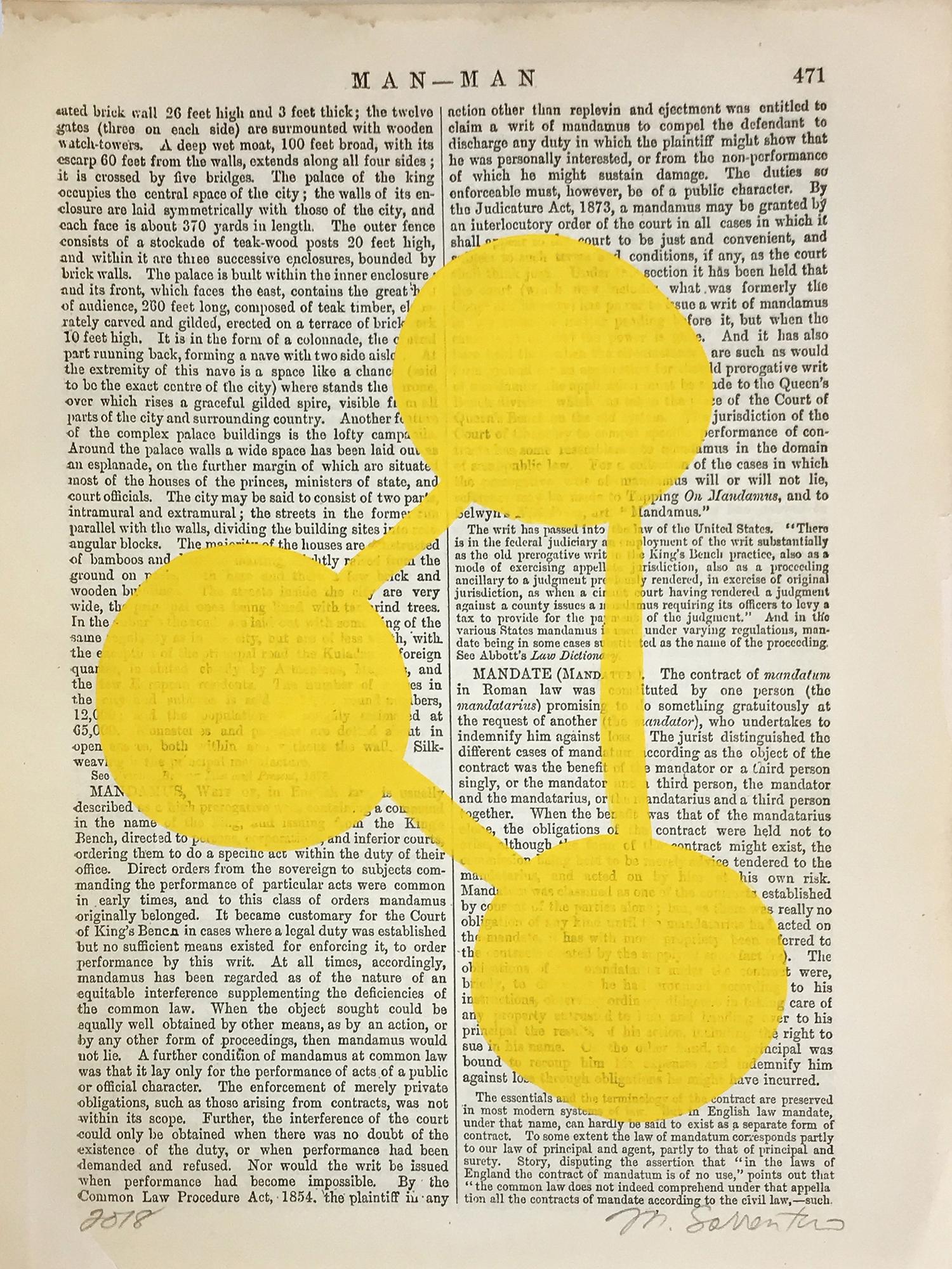 Man-Man Yellow 471 by Michela Sorrentino