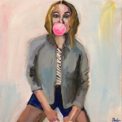Frances  Hahn - Bubblegum Bailey