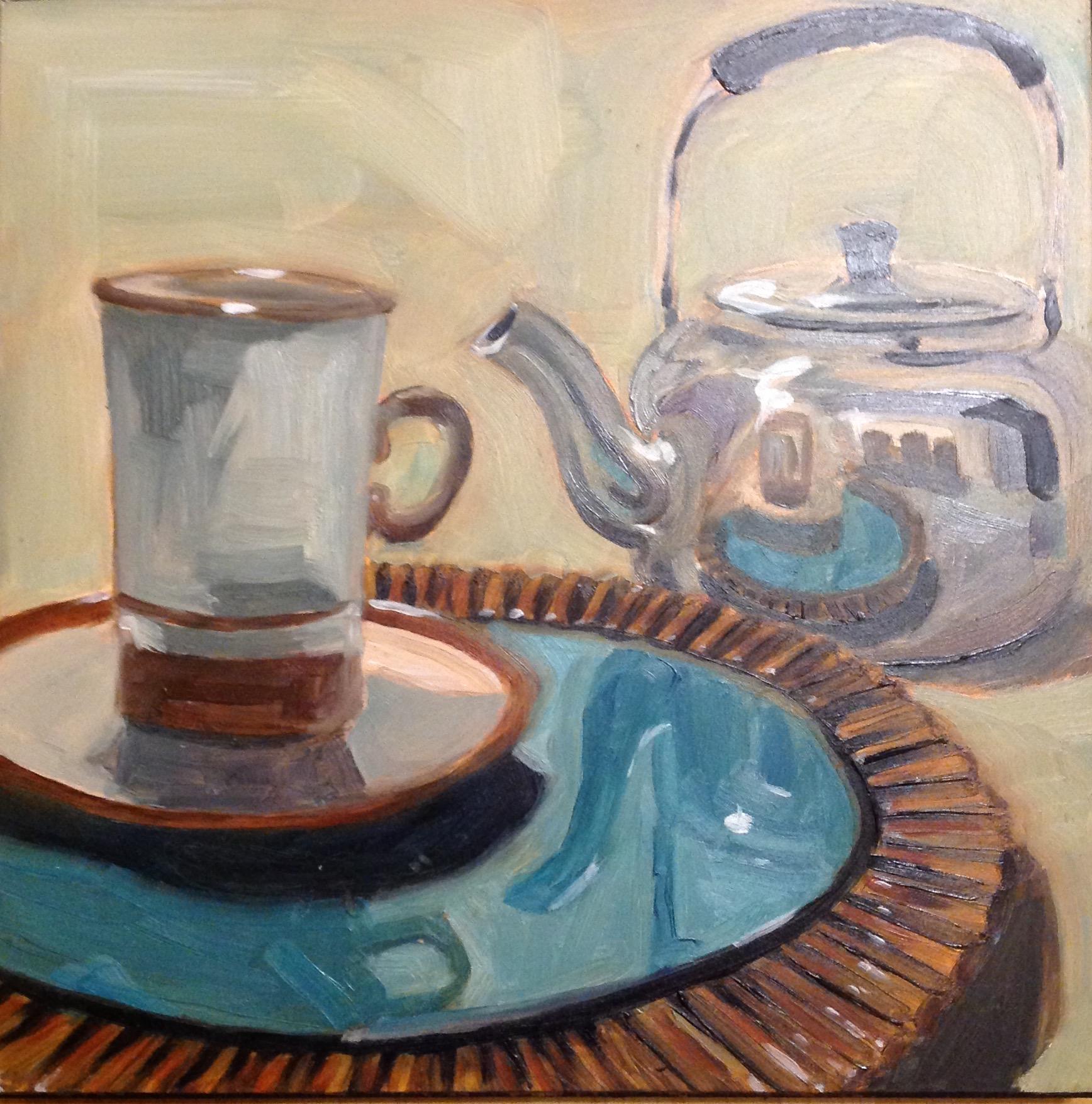 Kettle Series #8  by Sonja  Brown