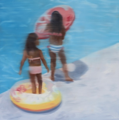 By The Pool #4 by Shannon  Dickie