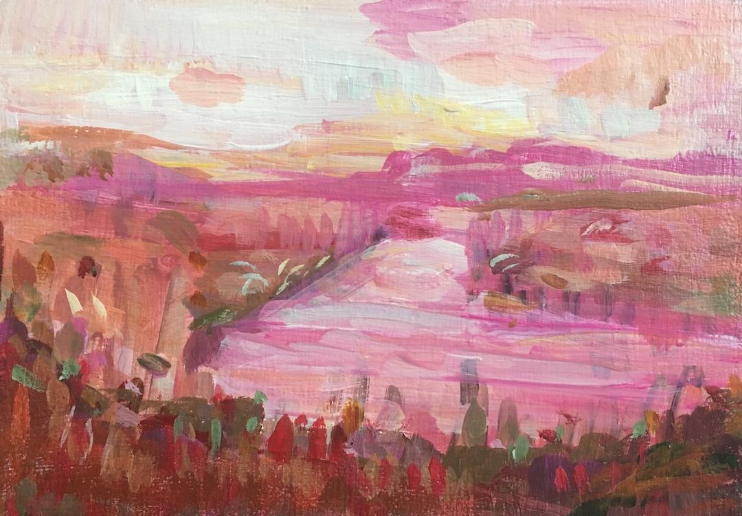 Lakeside at Dawn  by Tamara Thompson