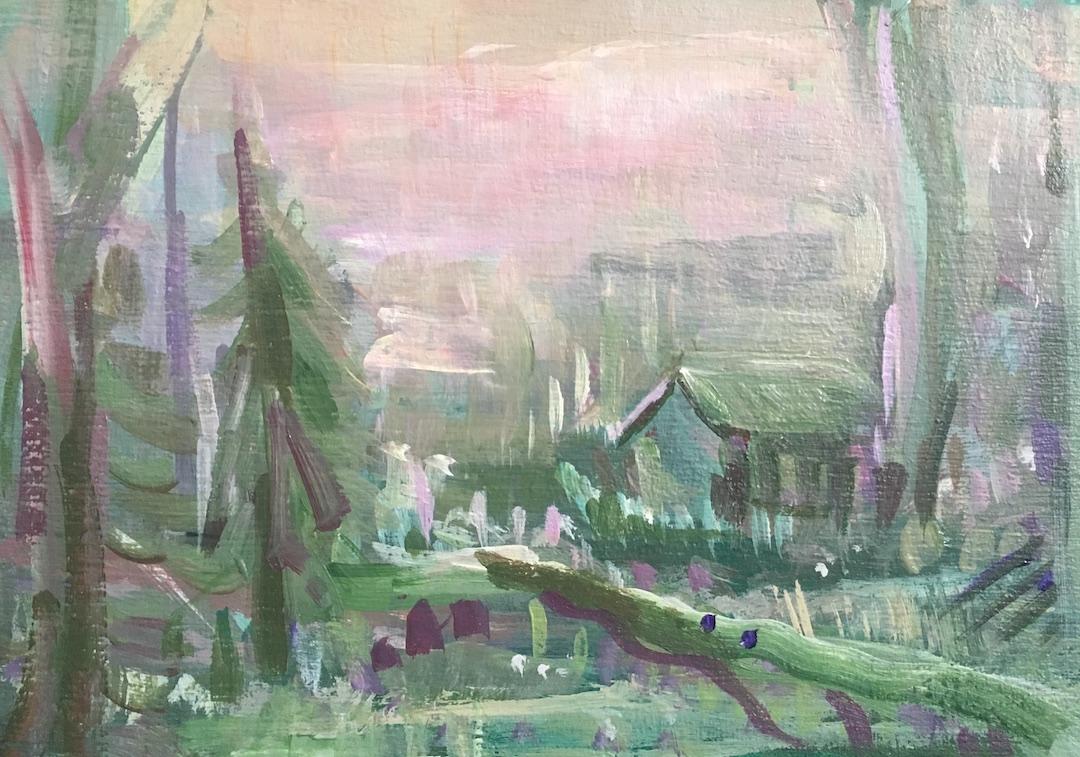 Morning Dew  by Tamara Thompson