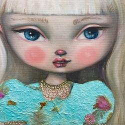 Kate Domina - Violets in Bloom
