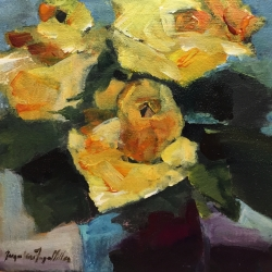 Jackie  Miller  - Old World Yellow Rose