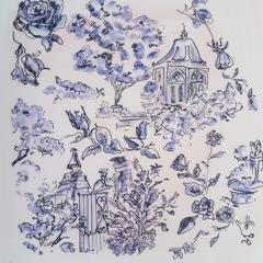 Jennifer Wardle - Purple Roses