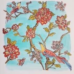 Jennifer Wardle - Birds and Flowers