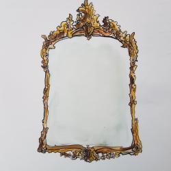Jennifer Wardle - Antique Mirror 1