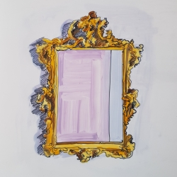 Jennifer Wardle - Antique Mirror 3