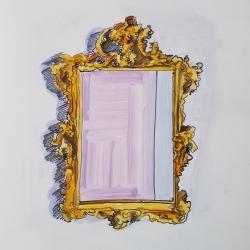 Jennifer Wardle - Antique Mirror 3