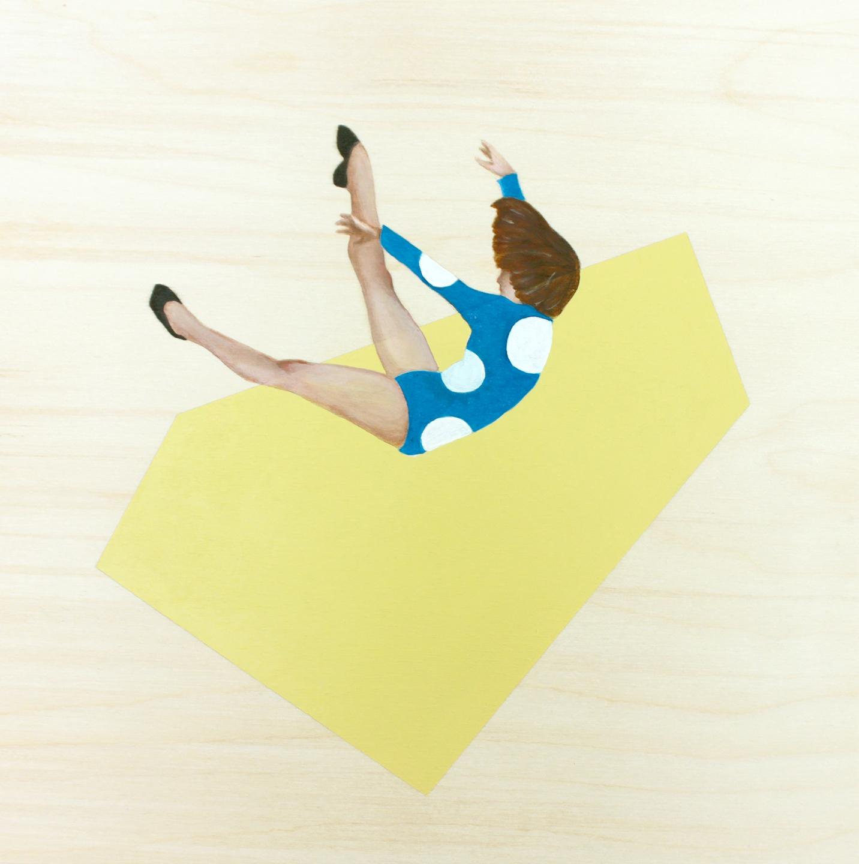 In Motion I by Marina  Nazarova