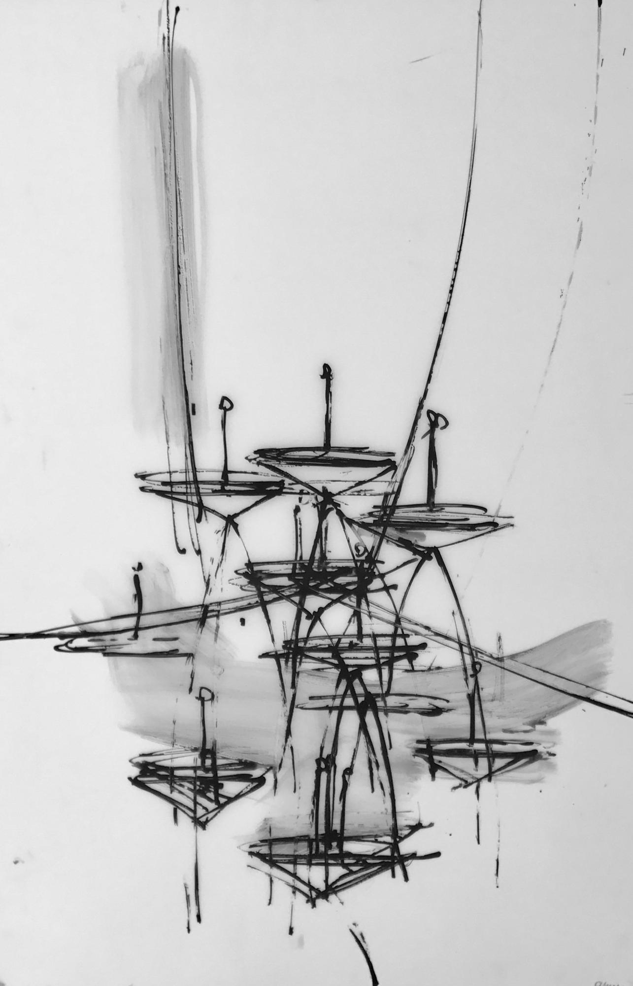 Chandelier 9 2016 by Daniel Schneider