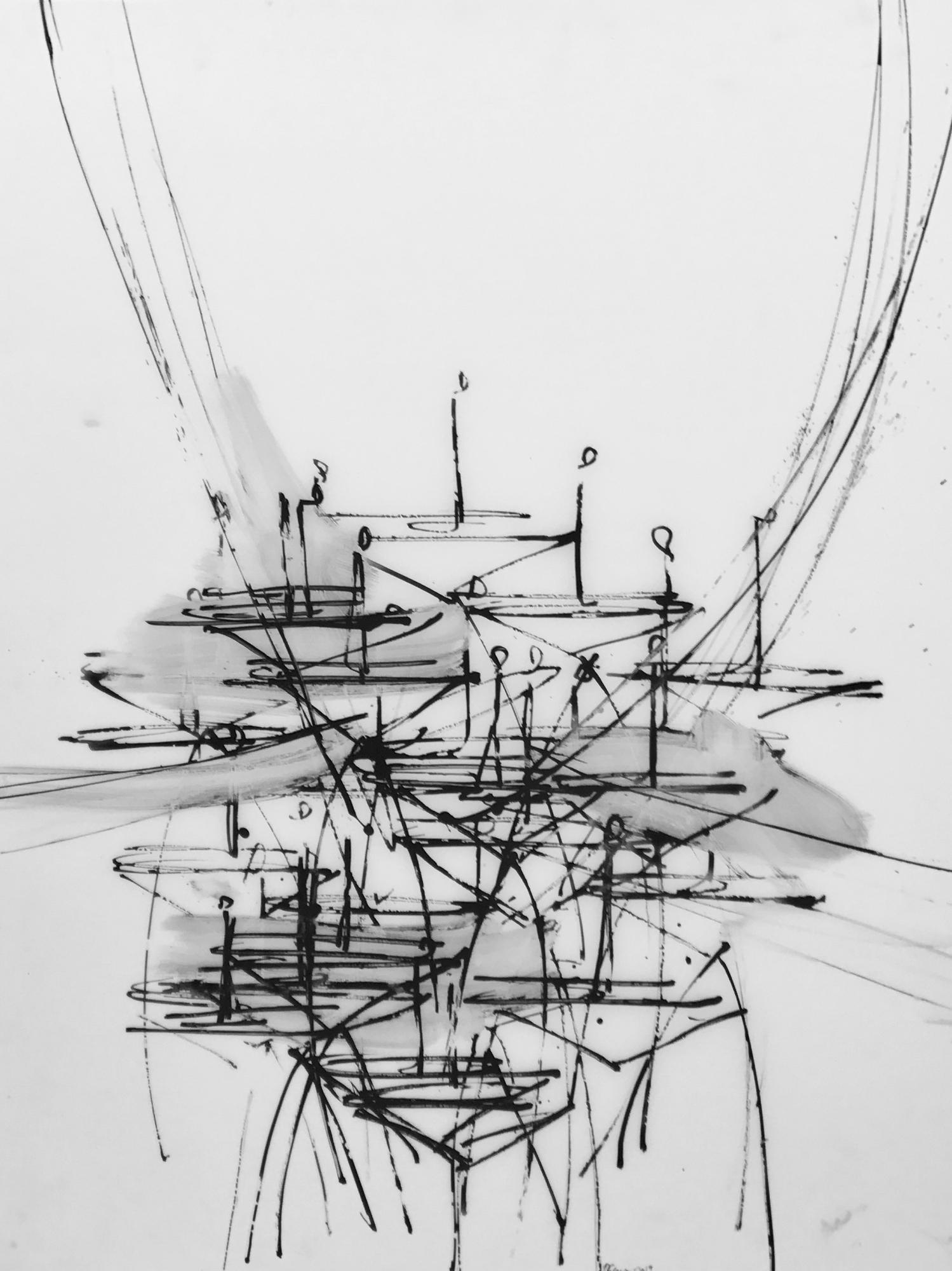 Chandelier 6 2019  by Daniel Schneider