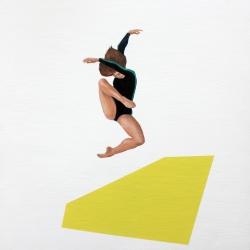 Marina  Nazarova - Dancer in Black and Green