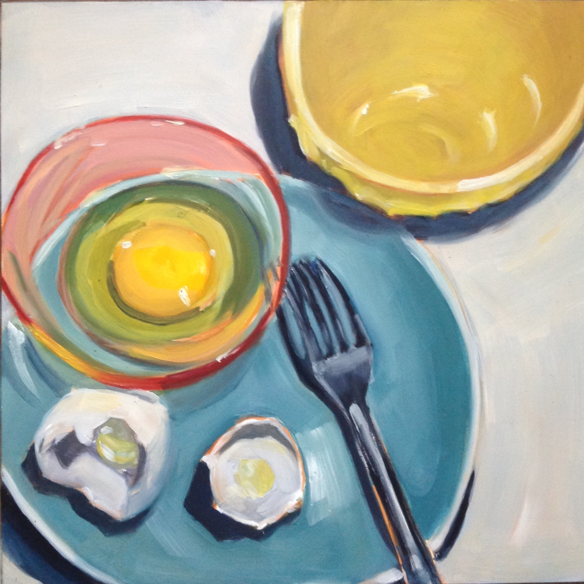 Egg Series #12  by Sonja  Brown