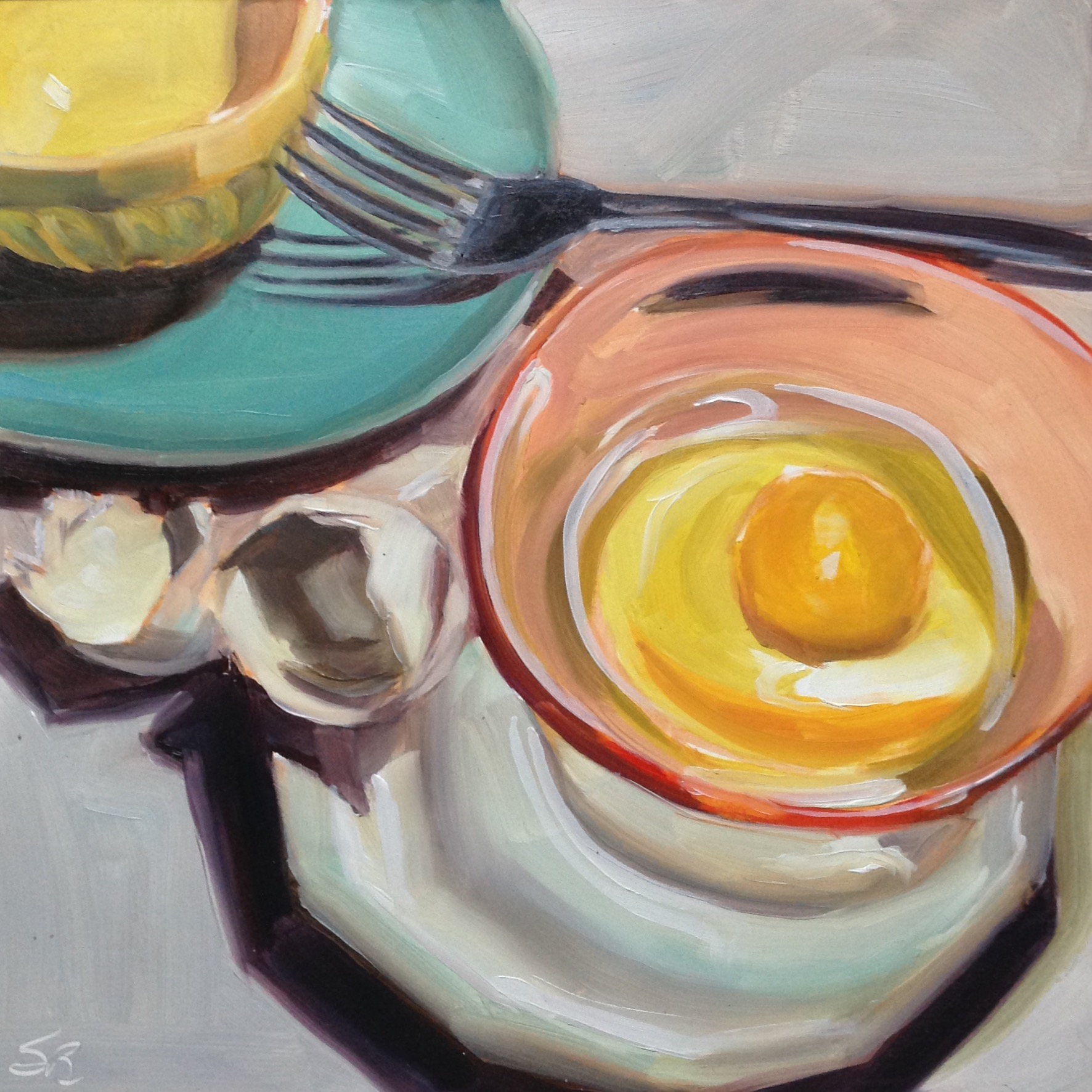 Egg Series #13 by Sonja  Brown