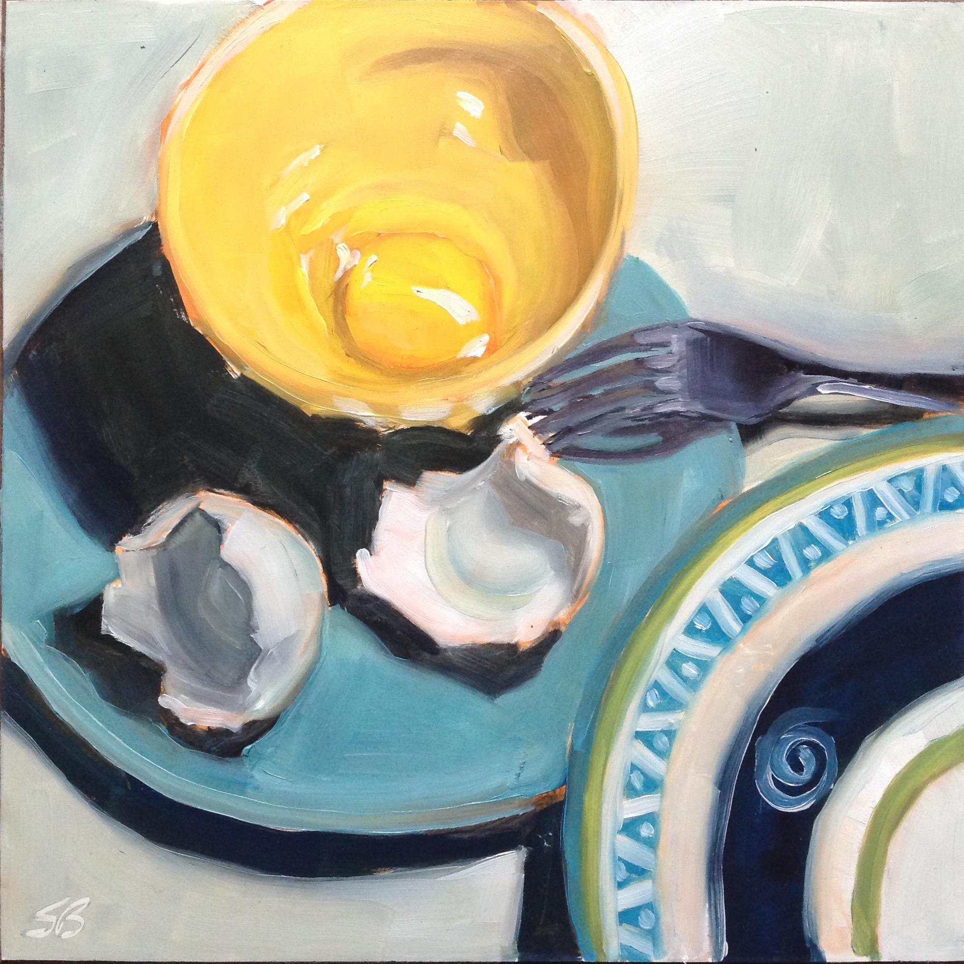 Egg Series #14 by Sonja  Brown