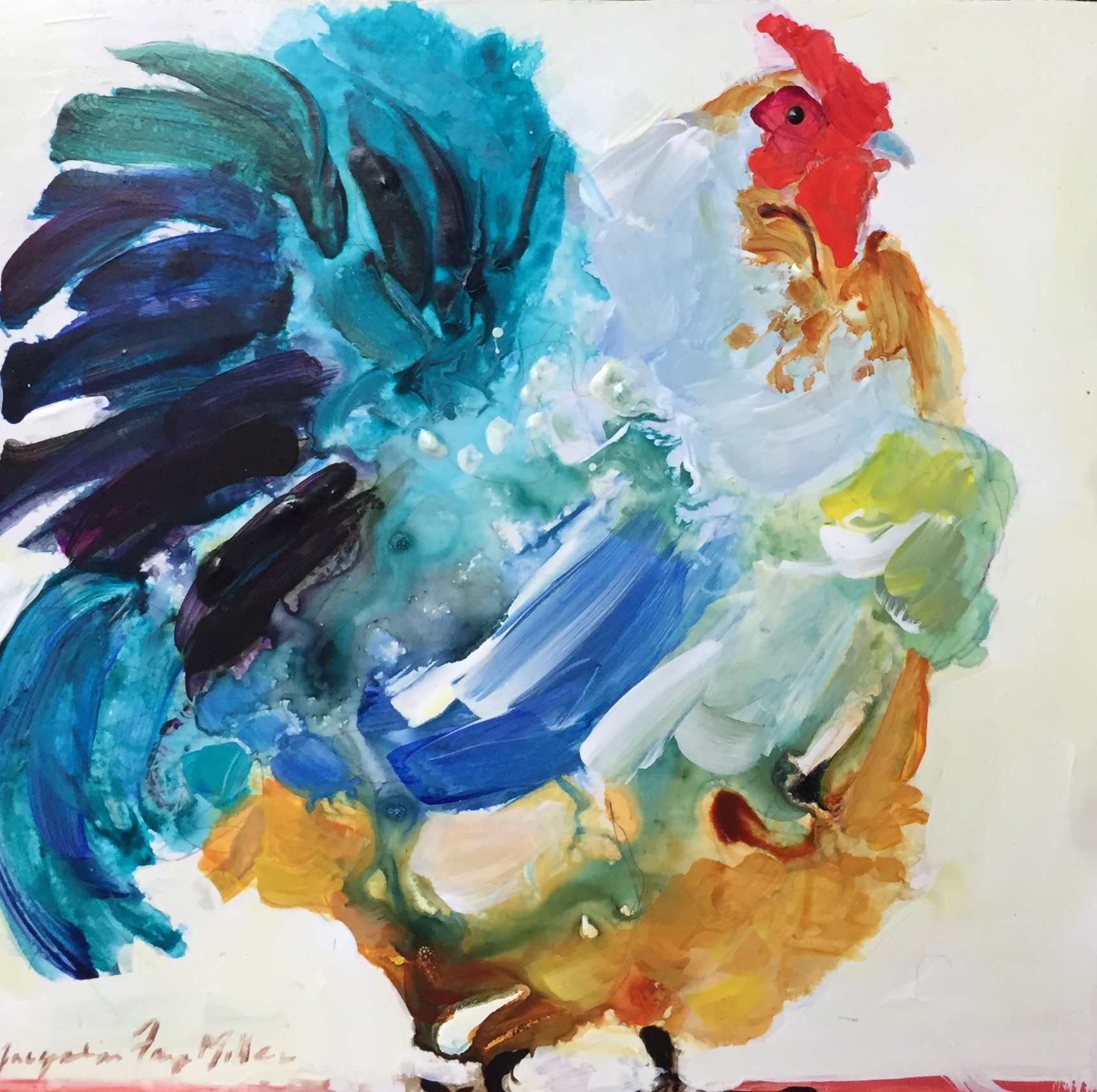 Chicken on the Run  by Jackie  Miller