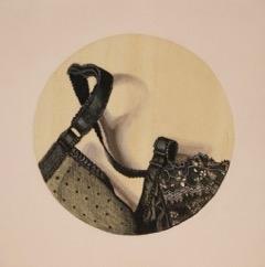 Little Black Bra Detail #1 by Kaitlin  Mason