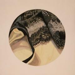 Little Black Bra Detail #2 by Kaitlin  Mason