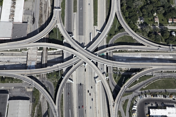 Interchanges: Detroit 4 by Peter Andrew