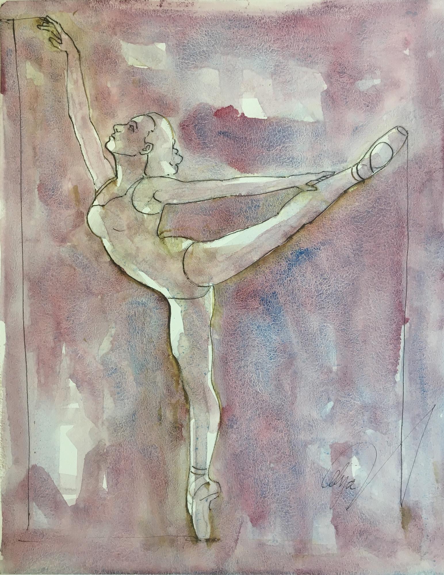 Dancers V by Mel Delija