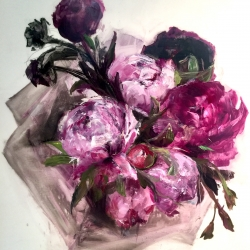 Madeleine Lamont - Purple Bouquet III