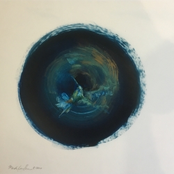 Madeleine Lamont - Hummingbird - Blue