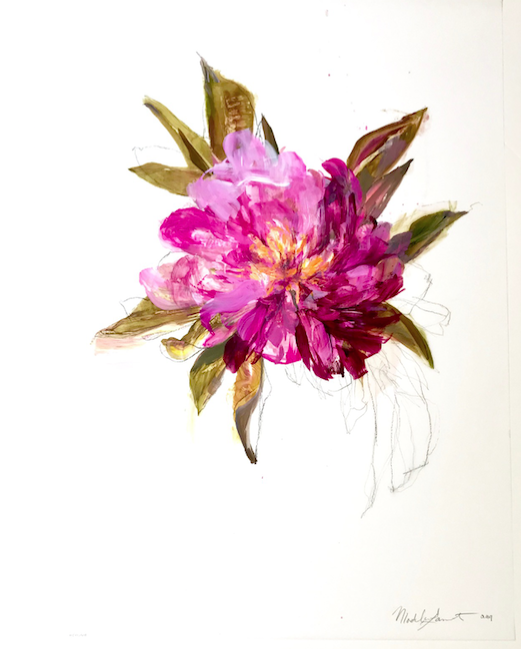 Magenta Peonies 5 by Madeleine Lamont
