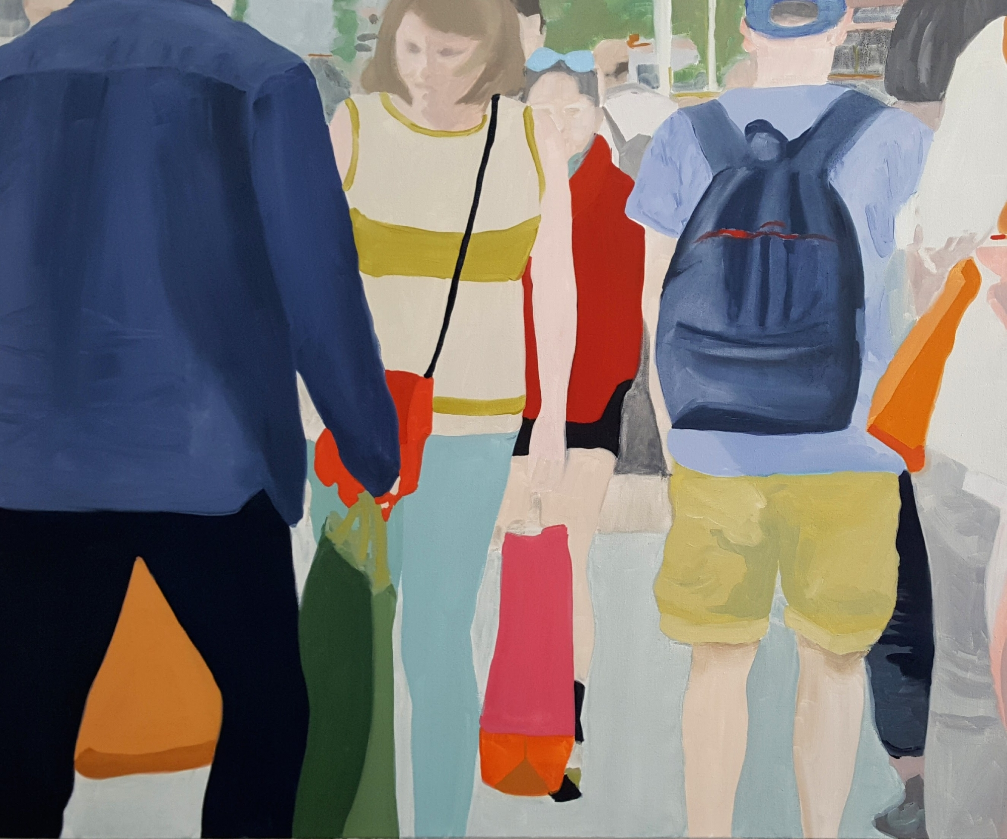 Bystanders 2 by Sherry  Czekus