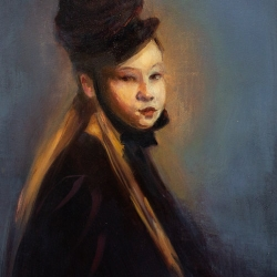Win  Kuplowsky  - Young Girl in Bonnet