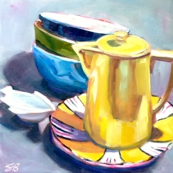 Sonja  Brown  - Yellow Pitcher 3